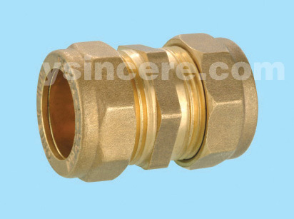 Compression Fittings with O-rings for Copper Pipes YC-00401