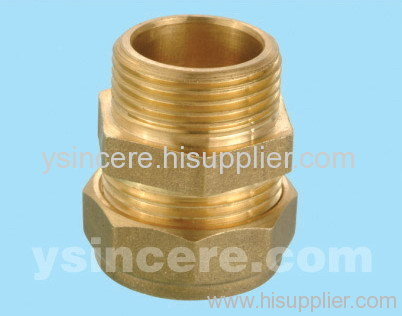 Compression Fittings with O-rings for Copper Pipes YC-00402
