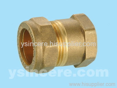 Compression Fittings with O-rings for Copper Pipes YC-00403