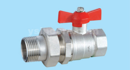 Brass compression ball valve YC-10123