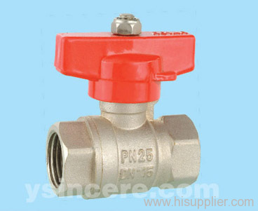 Brass compression ball valve YC-10132