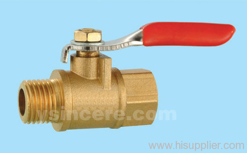 Brass compression ball valve YC-10143