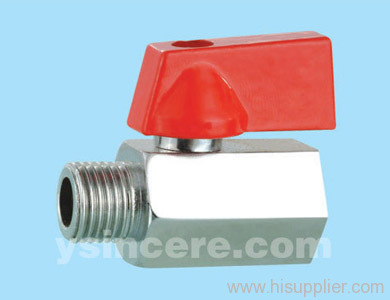Brass compression ball valve YC-101640