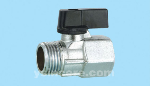 Brass compression ball valve YC-10165