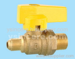Brass compression ball valve YC-10166