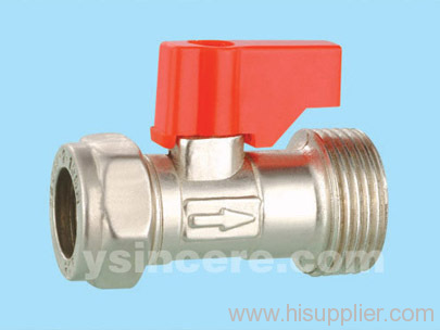 Brass compression ball valve YC-101735