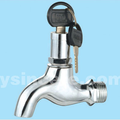 Zinc Alloy Handle Chrome-plated Body Brass tap YC-20307