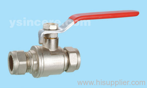Brass compression ball valve Yc-10122